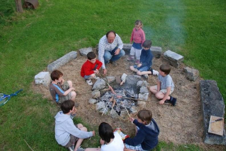 Location de vacances - Maison - Villa à Falaen - coin feu de camps