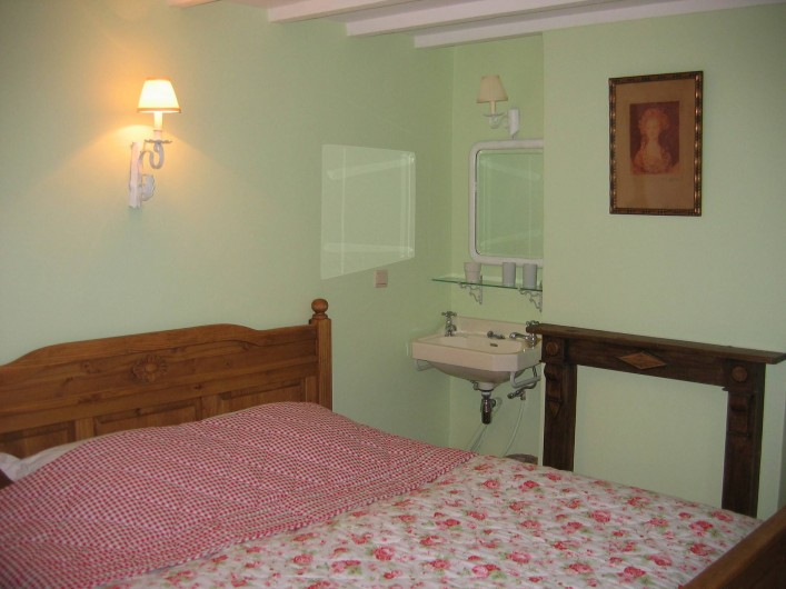 Location de vacances - Maison - Villa à Falaen - chambre Pomme