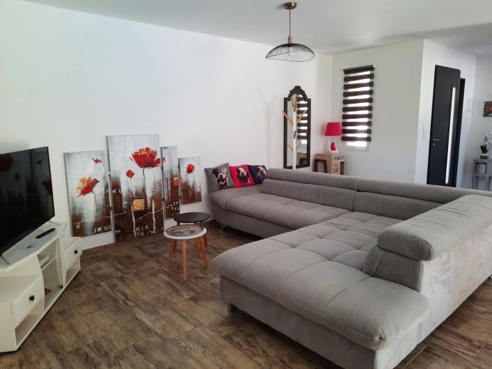 Location de vacances - Villa à Taillades - Salon