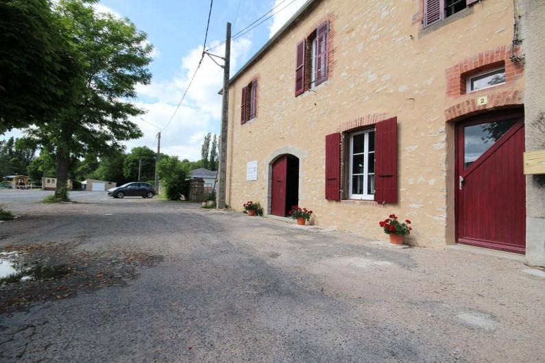 Location de vacances - Gîte à Châtillon-en-Bazois - Entrée principale