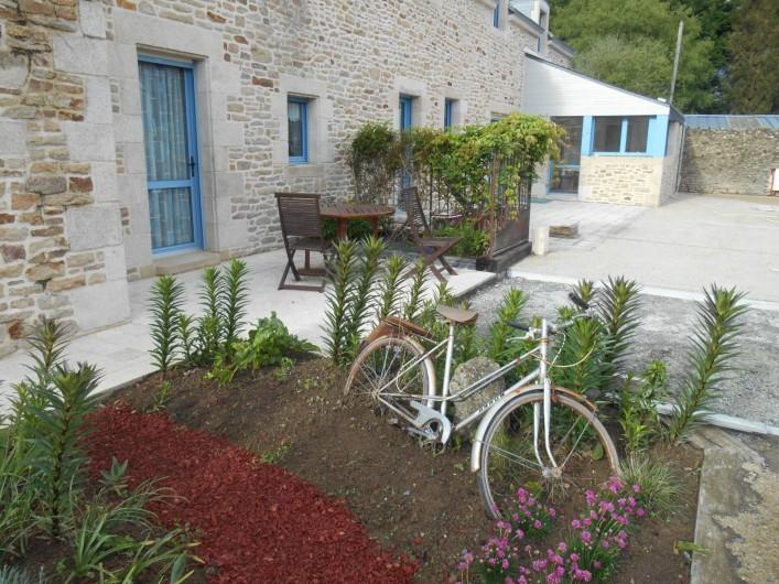 Location de vacances - Chambre d'hôtes à Quimperlé - le vélo de belle-Maman