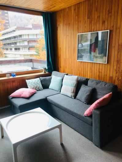 Location de vacances - Appartement à Les Claux - Salon