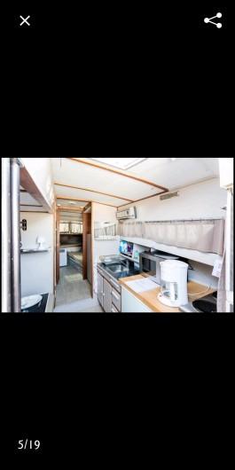 Location de vacances - Bateau à Le Cap d'Agde - Coin cuisine