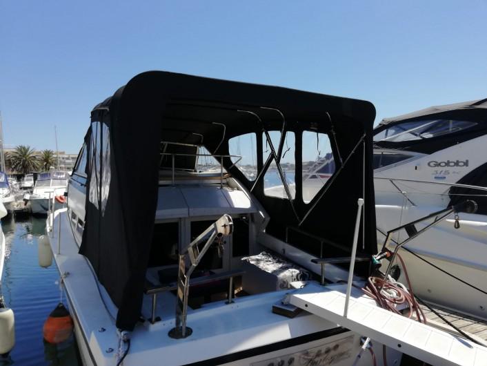 Location de vacances - Bateau à Le Cap d'Agde - Le bateau vu du ponton