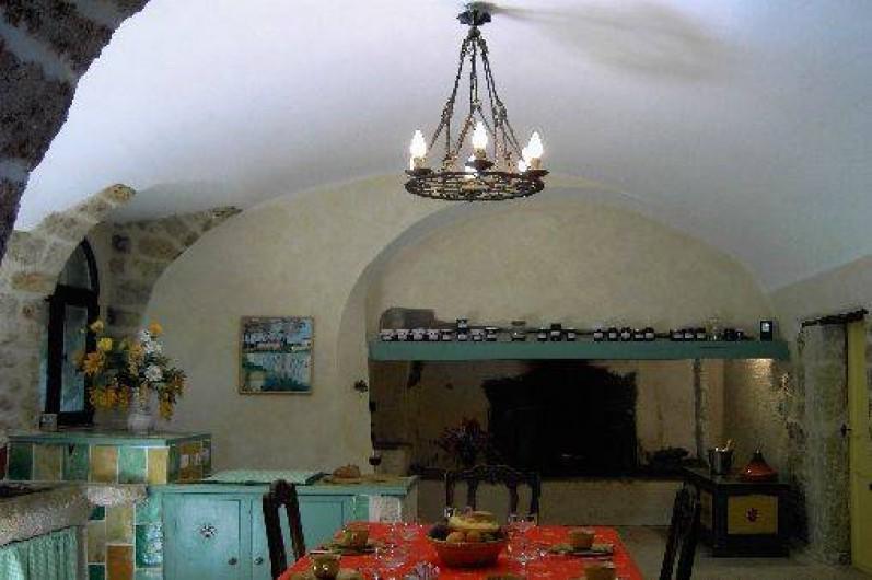 Location de vacances - Chambre d'hôtes à Fabrègues - Cuisine de la Commanderie.