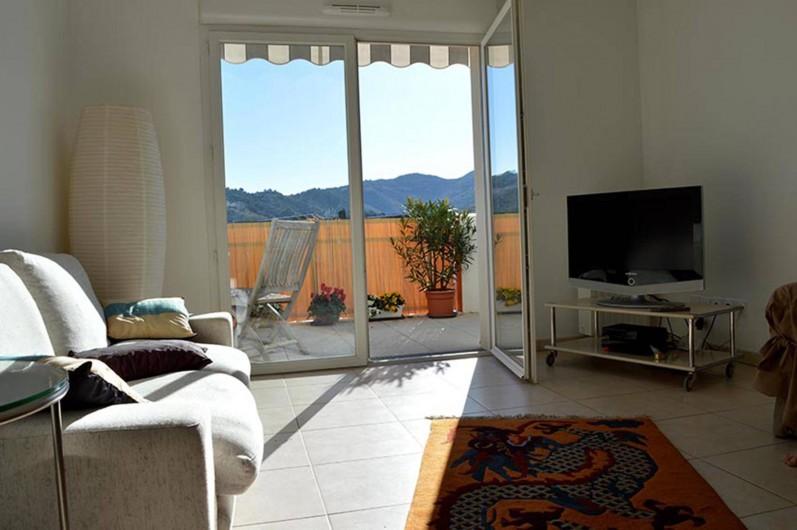 Location de vacances - Appartement à Banyuls-sur-Mer - Séjour
