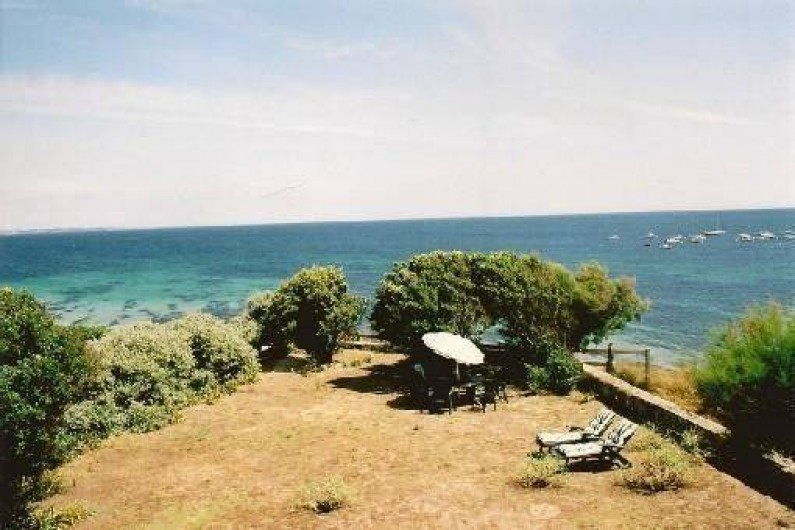 Location de vacances - Villa à Névez - Le jardin en bord de mer