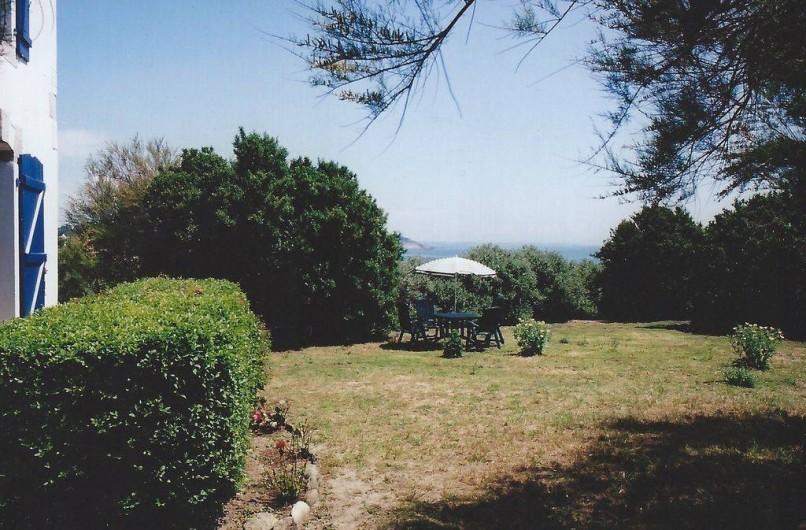 Location de vacances - Villa à Névez - Le jardin