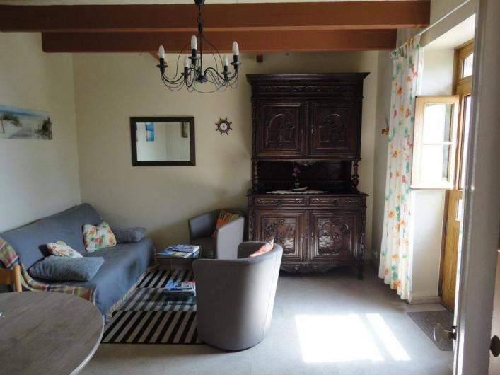 Location de vacances - Villa à Névez - Le salon