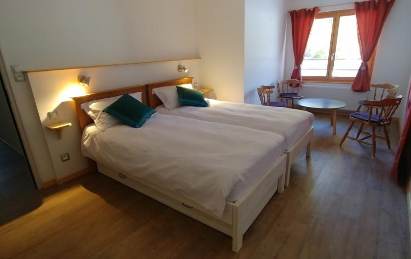 Location de vacances - Chalet à Gérardmer - chambre renard