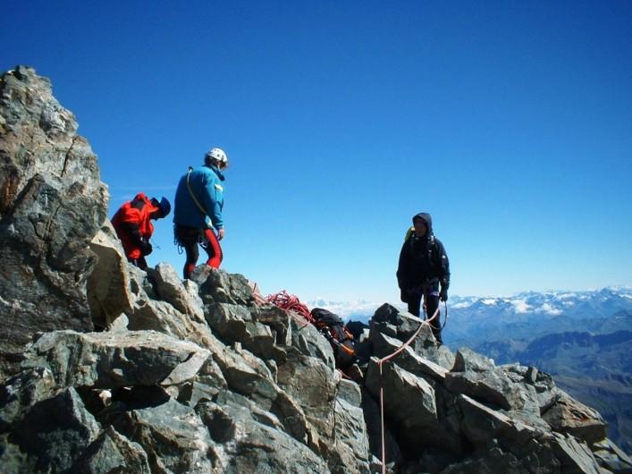 Location de vacances - Chalet à Les Deux Alpes - Alpinisme