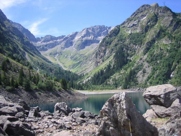 Location de vacances - Chalet à Les Deux Alpes - Randonnée au bord du lac Lauvitel