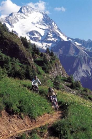 Location de vacances - Chalet à Les Deux Alpes - VTT