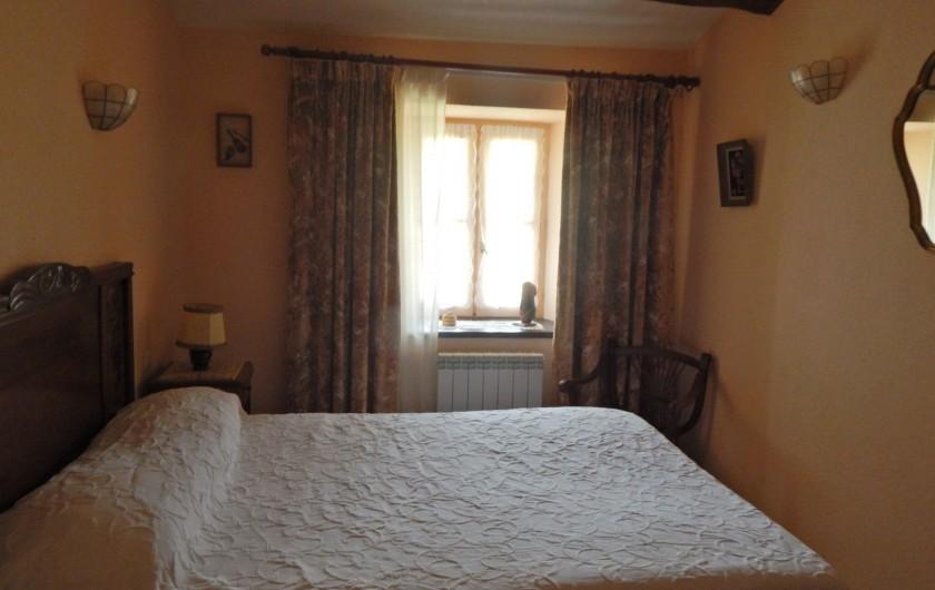 Location de vacances - Gîte à Meyras - chambre  (lit deux places)