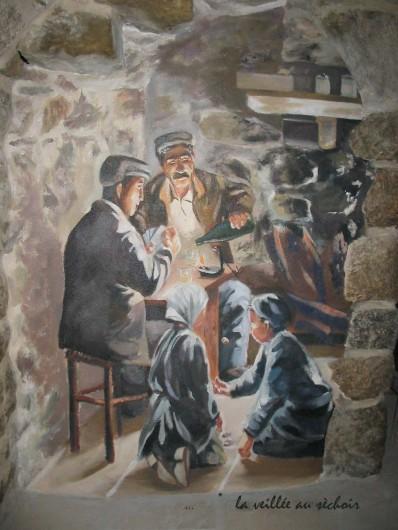 Location de vacances - Gîte à Meyras - La veillée au séchoir (1)