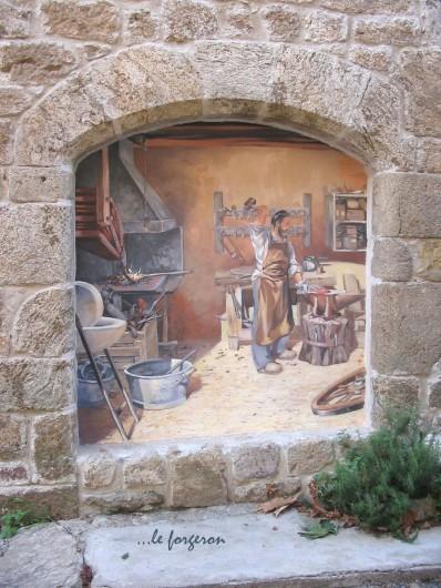 Location de vacances - Gîte à Meyras - Le forgeron (6 autres scènes de vie à découvrir)