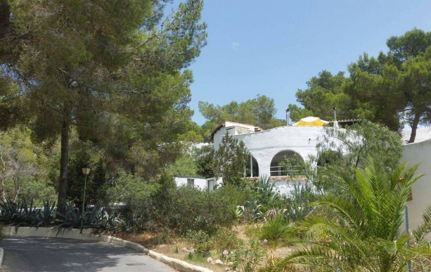 Location de vacances - Villa à Sant Antoni de Portmany - The house is Rond