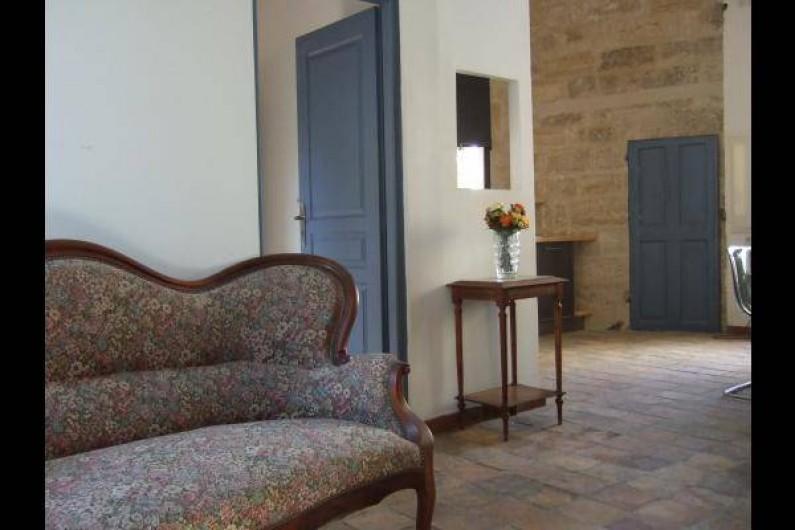 Location de vacances - Appartement à Pézenas - Salon / salle à manger