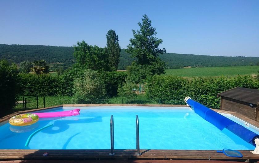 Location de vacances - Gîte à Puivert - piscine