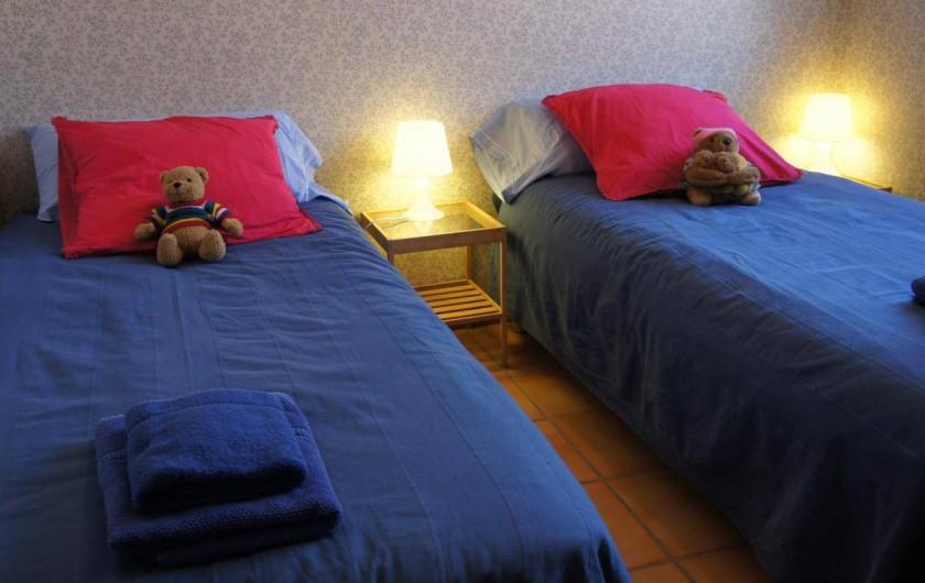 Location de vacances - Gîte à Puivert - Chambre Simple (Gîte Terrasse)