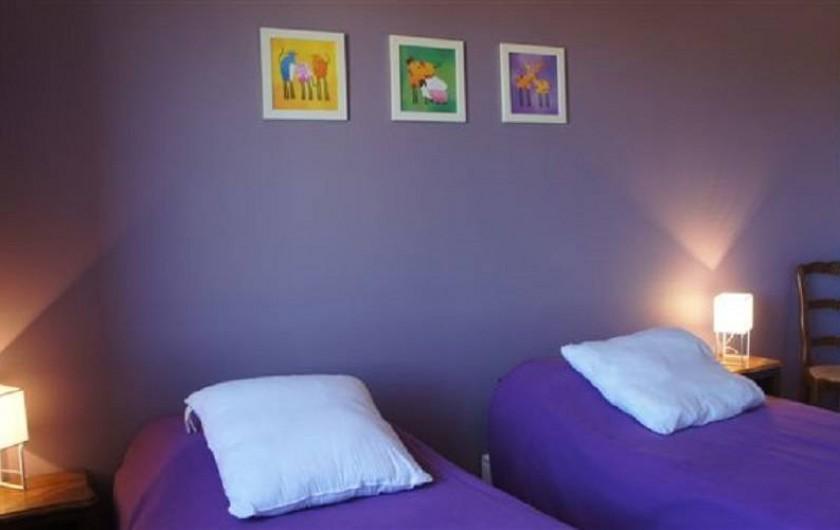 Location de vacances - Gîte à Puivert - Chambre Simple (Gîte Balcon)