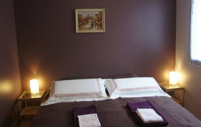 Location de vacances - Gîte à Puivert - Chambre Double (Gîte Jardin)