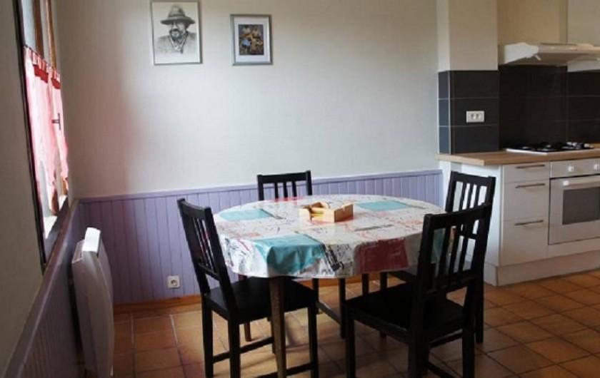 Location de vacances - Gîte à Puivert - Cuisine (Gîte Jardin)