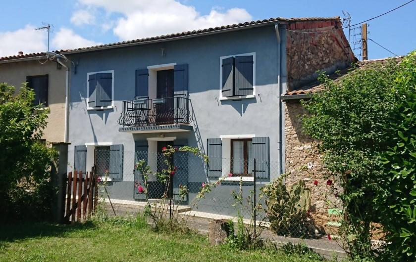 Location de vacances - Gîte à Puivert - Jardin privatif (Gîte Jardin)