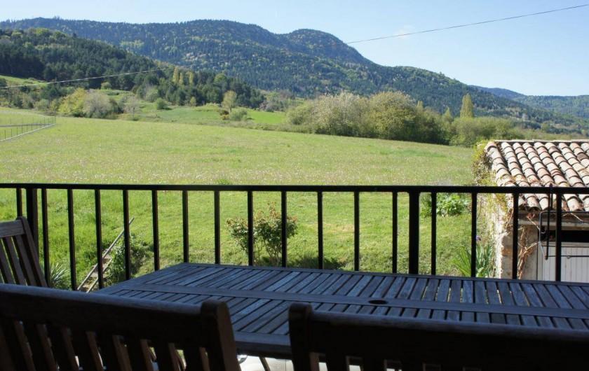 Location de vacances - Gîte à Puivert - Terrasse (Gîte Terrasse)