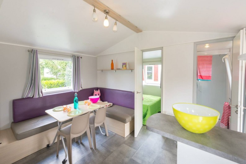 Location de vacances - Camping à Guérande - Mobil-home 2 chambres 1 salle de bains
