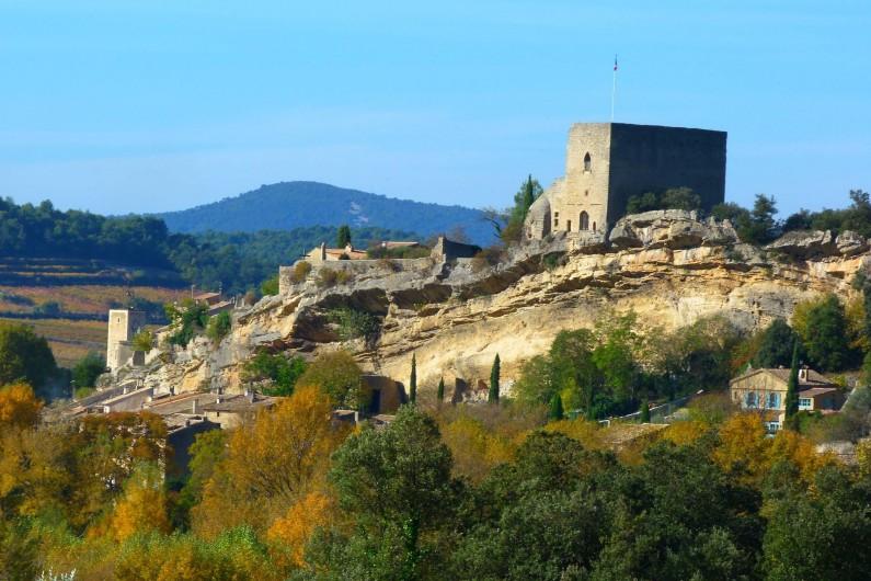 Location de vacances - Gîte à Mollans-sur-Ouvèze - Chateau de Mollans