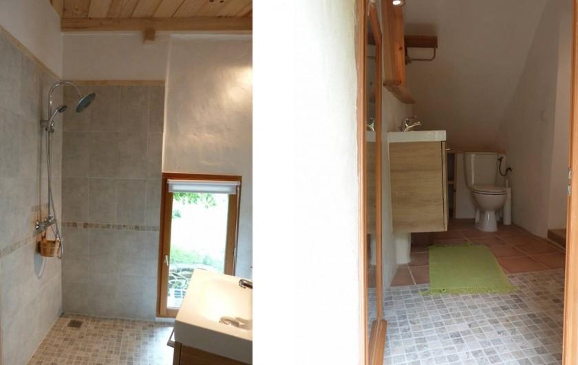 Location de vacances - Gîte à Mollans-sur-Ouvèze - Salle de bains