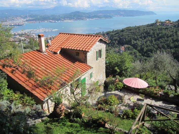 Location de vacances - Villa à La Spezia - La Villa des mures et sa magnifique vue