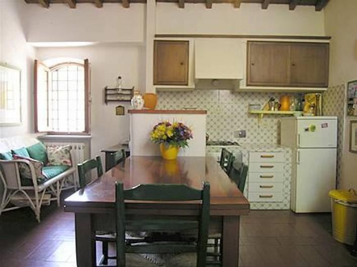 Location de vacances - Villa à La Spezia - Cuisine et salle a manger