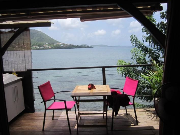 Location de vacances - Studio à Sainte-Luce - vue depuis votre lit !