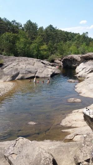 Location de vacances - Gîte à Gagnières - La rivière de notre Enfance !