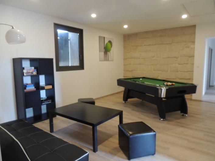 Location de vacances - Mas à Barbentane - A l'étage, un deuxième salon