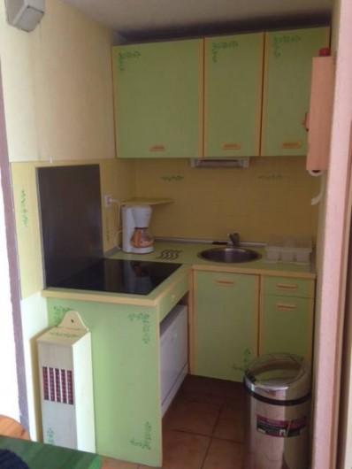 Location de vacances - Appartement à Le Cap d'Agde - coin cuisine