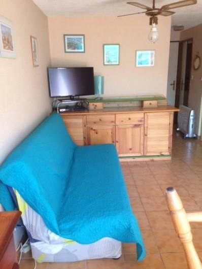 Location de vacances - Appartement à Le Cap d'Agde - séjour
