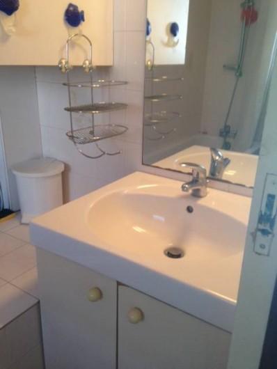 Location de vacances - Appartement à Le Cap d'Agde - salle de bain