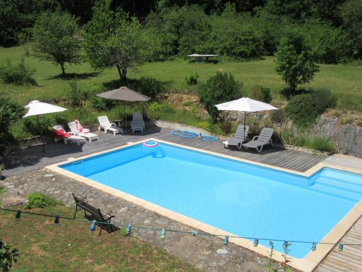 Location de vacances - Villa à Salviac - Piscine 10x5