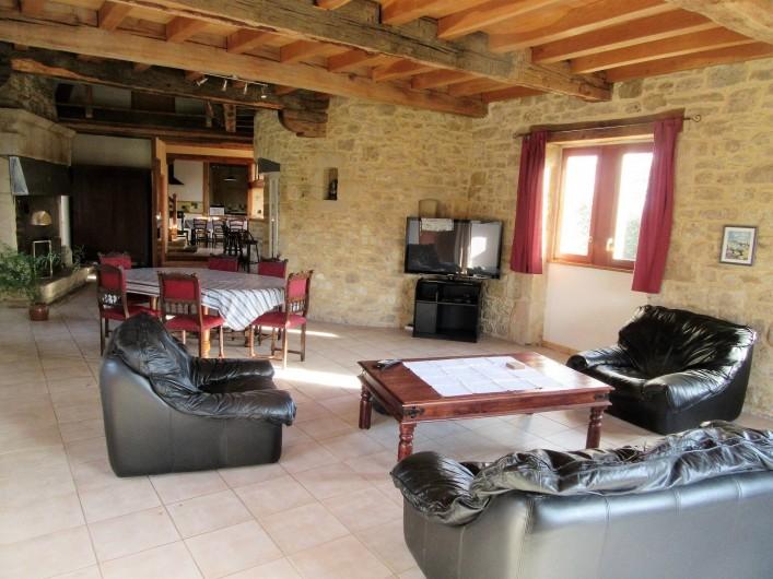 Location de vacances - Villa à Salviac - Salle Salon ;85m2