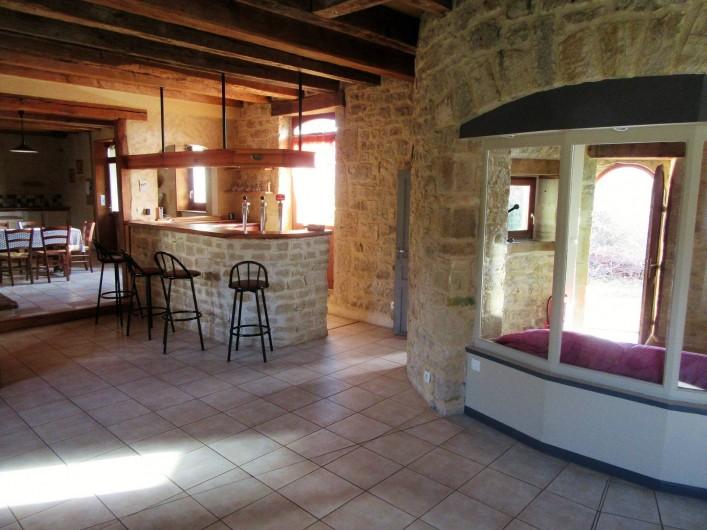 Location de vacances - Villa à Salviac - Salon Bar