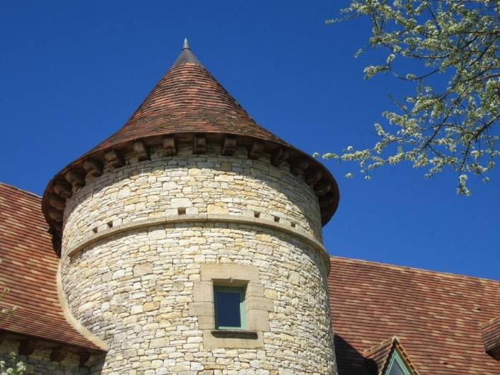 Location de vacances - Villa à Salviac - Tour ronde