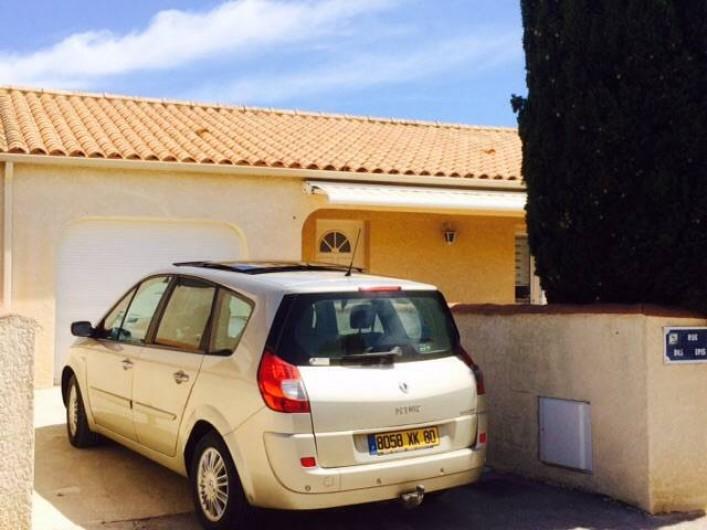 Location de vacances - Villa à Frontignan - Place de parking privative