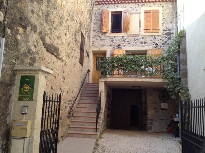 Location de vacances - Appartement à Fontès - Vue de la rue