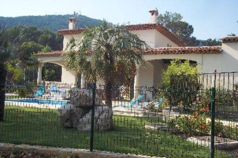 Location de vacances - Villa à Le Tignet - Jardin