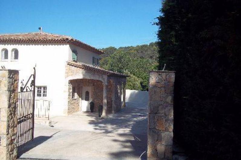 Location de vacances - Villa à Le Tignet - Entrée