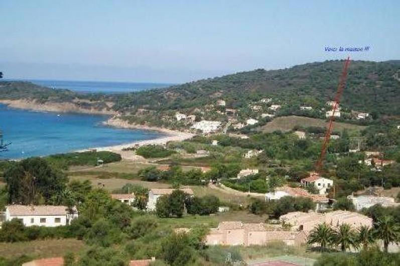 Location de vacances - Appartement à Cargèse - Vue de la villa de Cargèse
