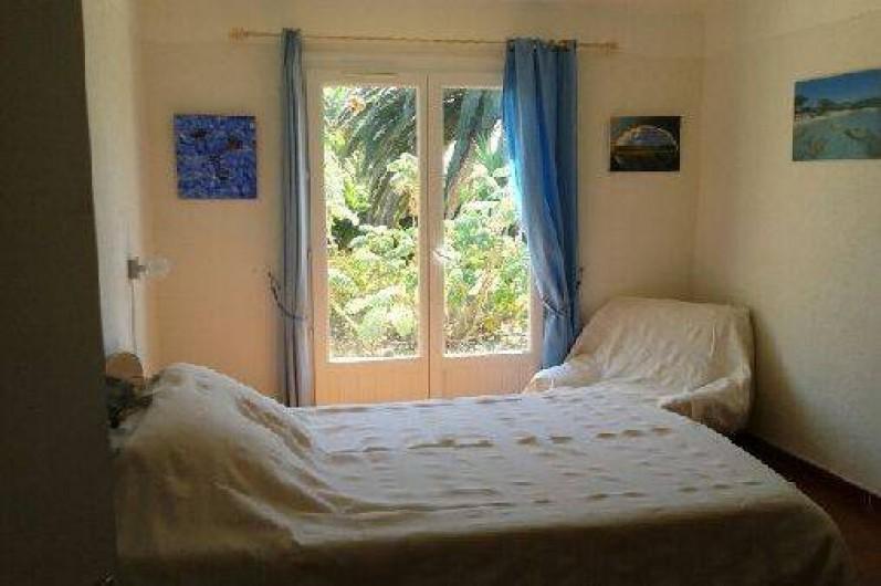 Location de vacances - Appartement à Cargèse - Chambre 1 du RDC